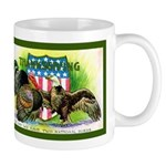 National Birds on Thanksgivin Mug