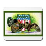 National Birds on Thanksgivin Mousepad