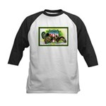 National Birds on Thanksgivin Kids Baseball Jersey