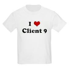 I Love Client 9 T-Shirt