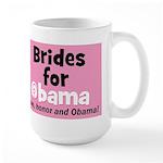 Obama Wedding Party Gift Large Mug