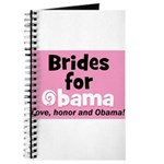 Obama Wedding Party Gift Journal