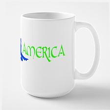 Feis America Male Logo Large Mug