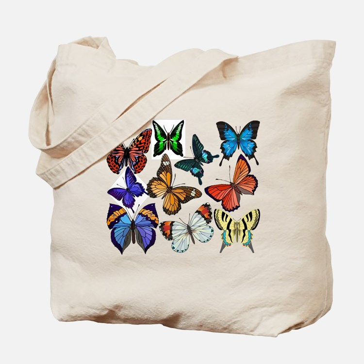 Butterflies Tote Bag