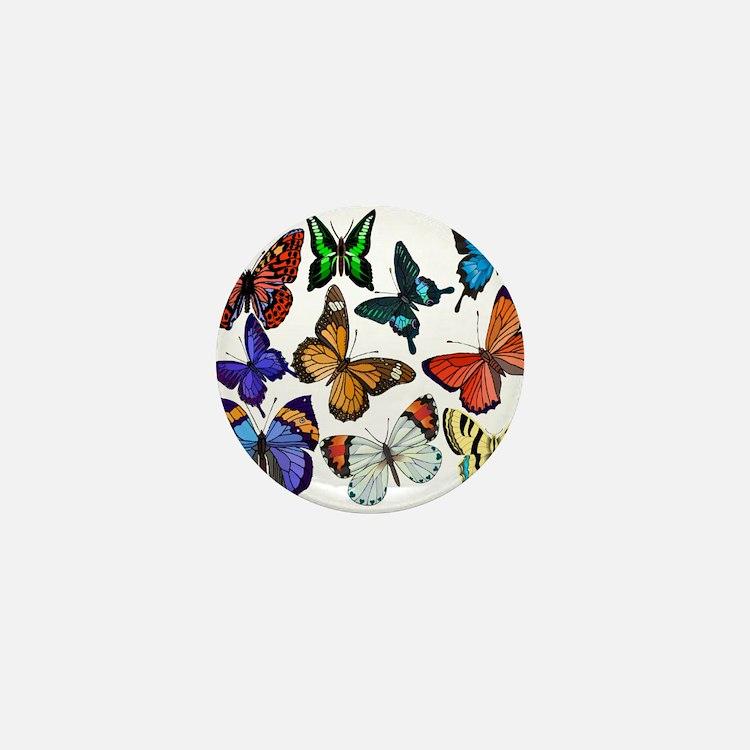 Butterflies Mini Button