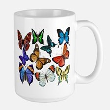 Butterflies Ceramic Mugs