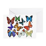 Butterflies Greeting Cards
