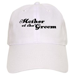 Mother of the Groom Baseball Cap
