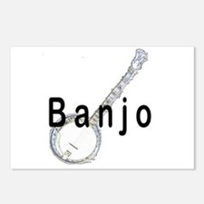 Banjo Postcards (Package of 8)