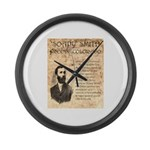 Soapy Smith Large Wall Clock