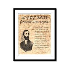 Soapy Smith Framed Panel Print