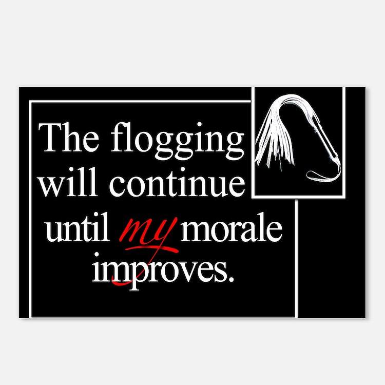 Flogging Morale Postcards (Package of 8)