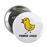 Tennis chick Buttons