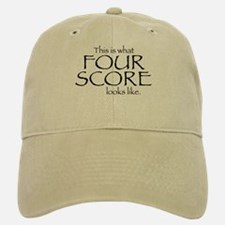 Four Score Baseball Baseball Cap