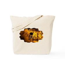 Skull flame Tote Bag