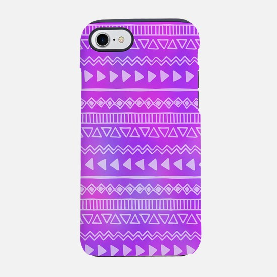 Aztec Purple iPhone 7 Tough Case