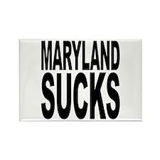 Maryland Sucks Rectangle Magnet