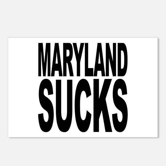 Maryland Sucks Postcards (Package of 8)