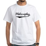 Philosophy White T-Shirt