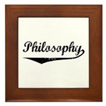 Philosophy Framed Tile