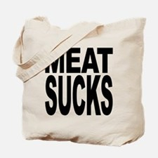 Meat Sucks Tote Bag