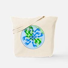 Footprint Planet Tote Bag