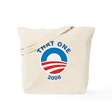 That One Obama Logo 2008 Tote Bag