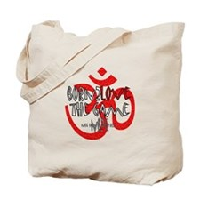 Cute Yoga christmas Tote Bag