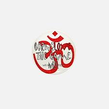 Cool Yoga christmas Mini Button