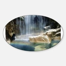 Vernal Falls Oval Decal