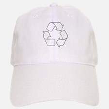 Recycling Carbon Footprint Baseball Baseball Cap
