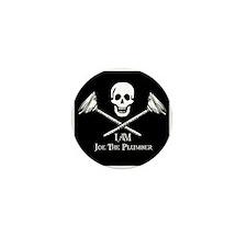 Joe The Plumber Flag Mini Button (100 pack)