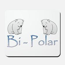 Bi-Polar Bears Mousepad