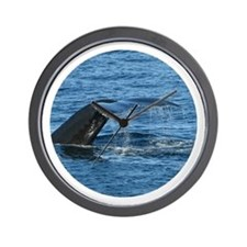 Whale Tail II- Wall Clock