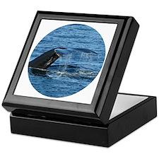 Whale Tail II- Keepsake Box