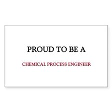Proud to be a Chemical Process Engineer Sticker (R