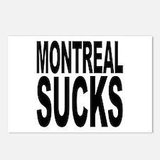 Montreal Sucks Postcards (Package of 8)