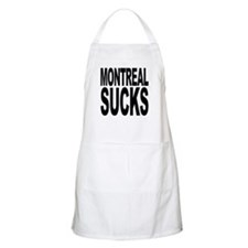 Montreal Sucks BBQ Apron