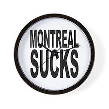 Montreal Sucks Wall Clock