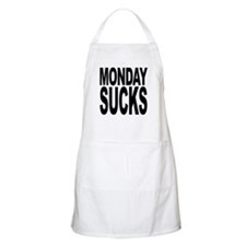 Mondays Suck BBQ Apron