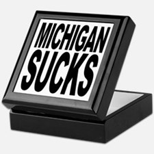 Michigan Sucks Keepsake Box
