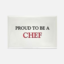 Proud to be a Chef Rectangle Magnet