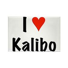 I love Kalibo Rectangle Magnet (10 pack)