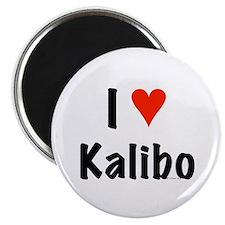 I love Kalibo Magnet
