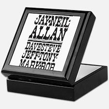 Cute Alva Keepsake Box