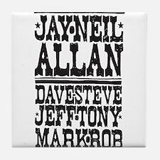 Cute Alva Tile Coaster