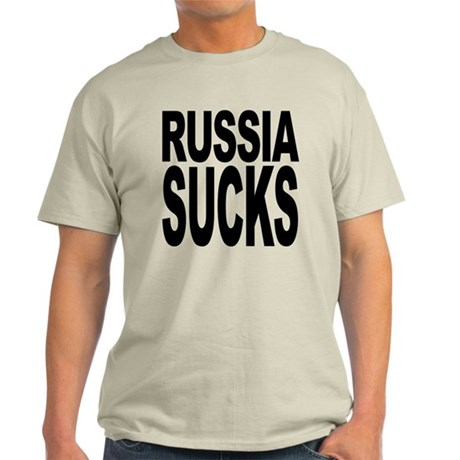 Russia Sucks Light T-Shirt