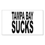 Tampa Bay Sucks Rectangle Sticker 50 pk)