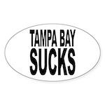Tampa Bay Sucks Oval Sticker (10 pk)
