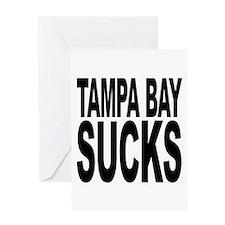 Tampa Bay Sucks Greeting Card